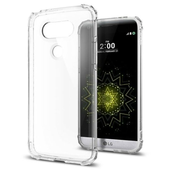 Spigen Crystal Shell pro LG G5 Clear Crystal