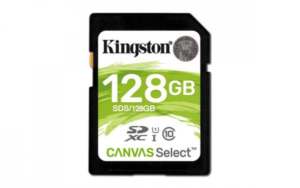 Kingston - plátno karty SDXC Select CL10 UHS-I 80R, 128 GB